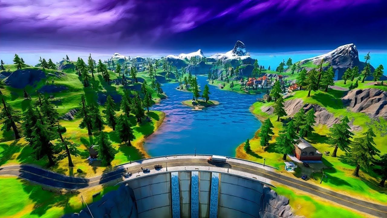 A New Chapter For Fortnite Best Gaming Wallpapers Landscape Pictures Background