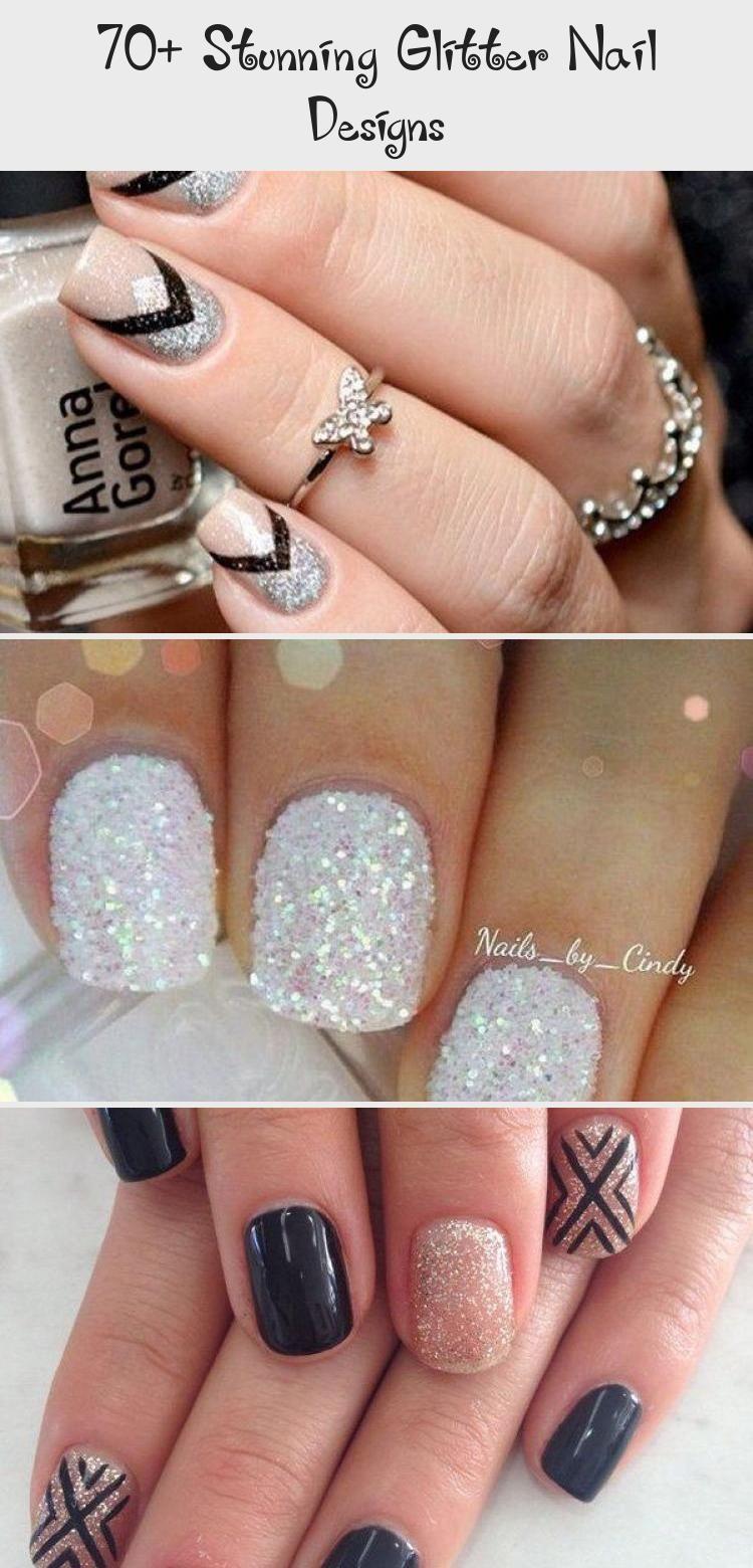 Photo of 70+ Stunning Glitter Nail Designs – Nails & design