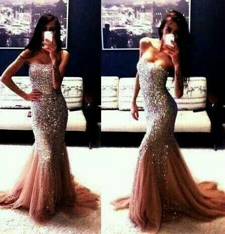Pretty mermaid dress