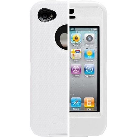 the best case ever for the iphone. It has a clear plastic cover for the front of the phone! Perfectly protects my phone. Love it!