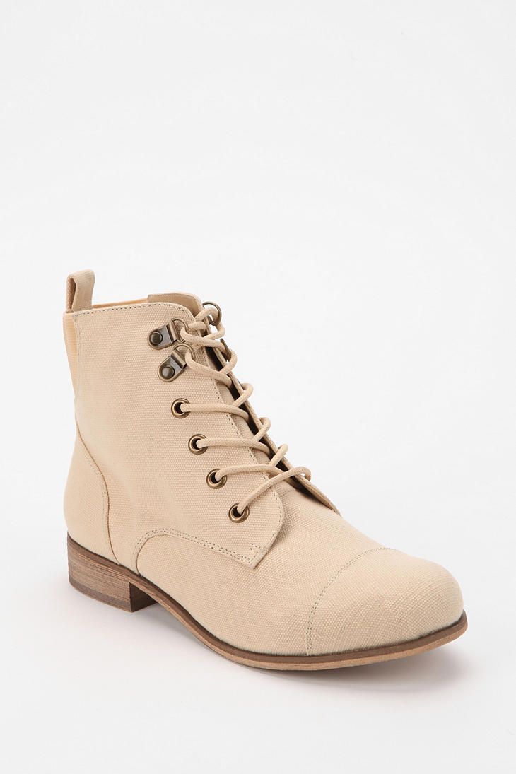 BDG Canvas Lace-Up Boot  #UrbanOutfitters