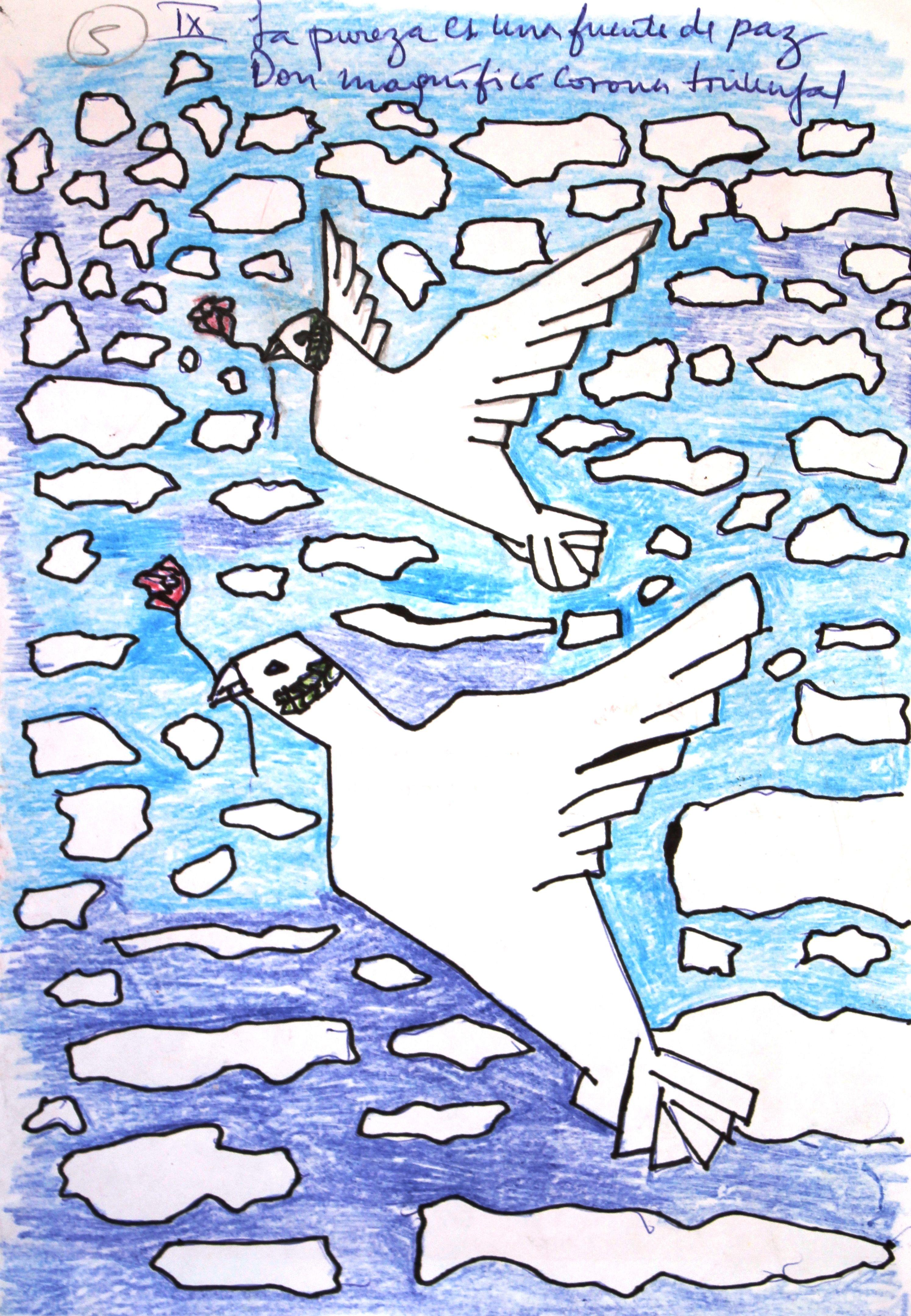 Noveno Mandamiento Canvas Art Kids Rugs Canvas