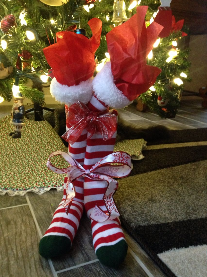 Bunco Christmas Party Ideas Part - 29: Bunco Christmas Sock Exchange,,,, Filled With Goodies ! How Fun For A Work  Party!