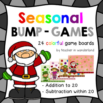 Dollar Deal for 48 hrs. seasonal bump games (addition and