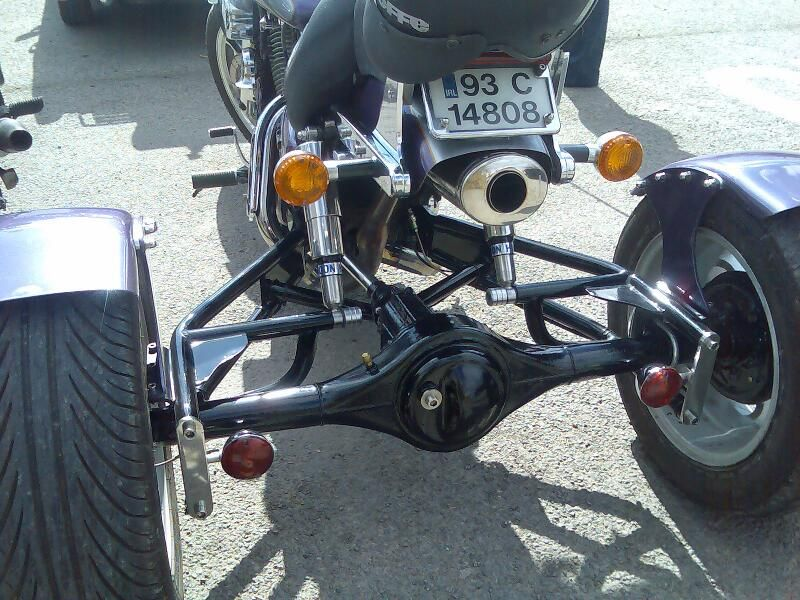 Homemade Trike Rear End Book Covers   Projects to Try