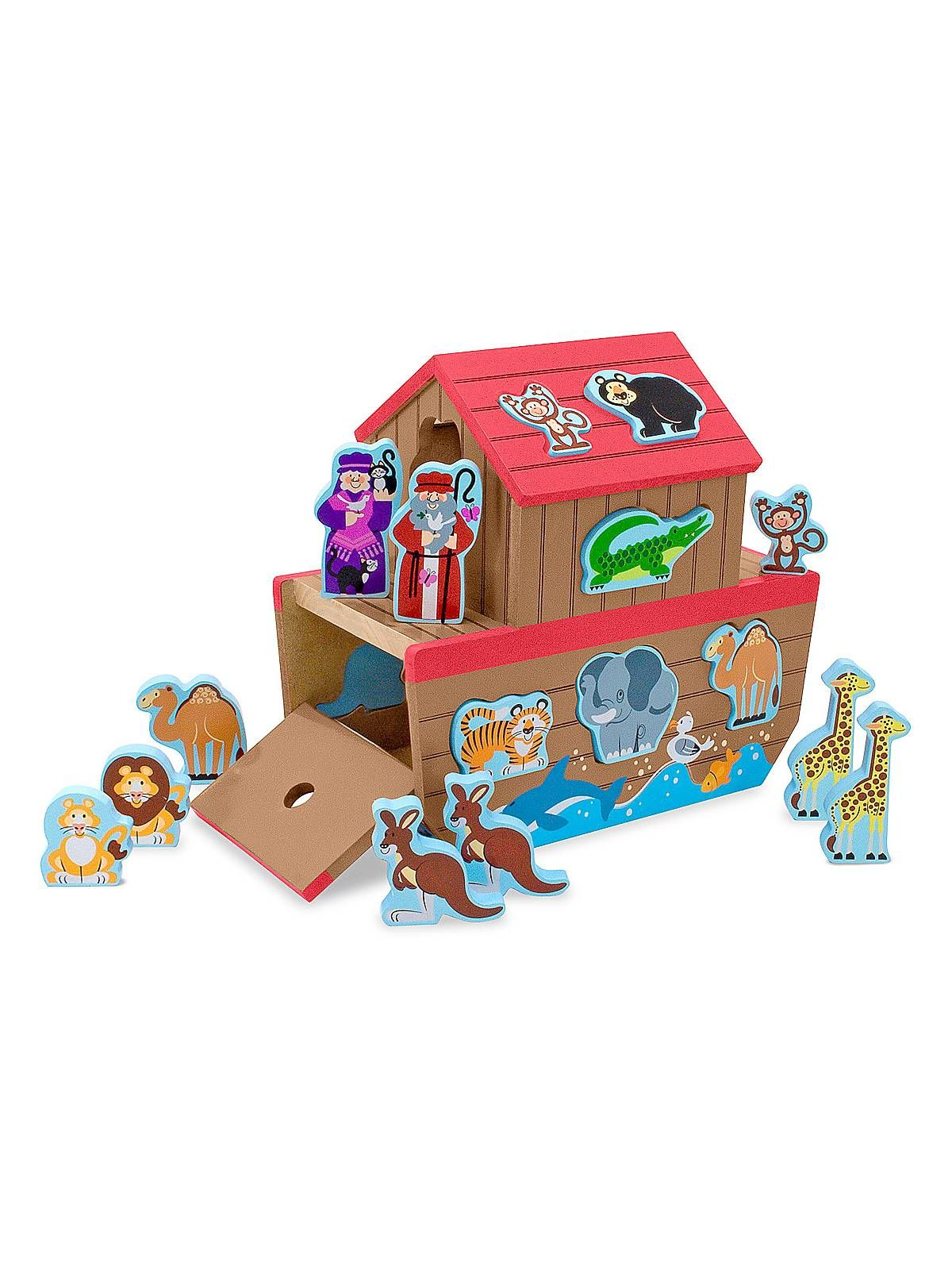 Noah s Ark Shape Sorter for Girls & Boys