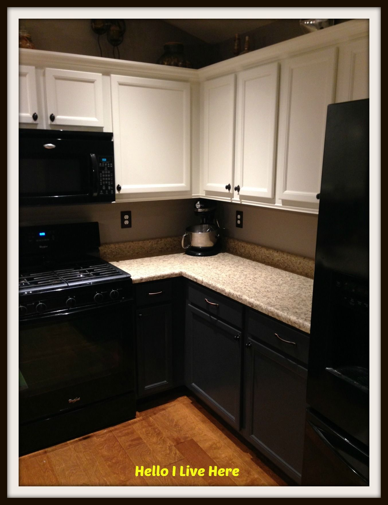 How To Paint Kitchen Cabinets Http://helloilivehere.com/paint Kitchen