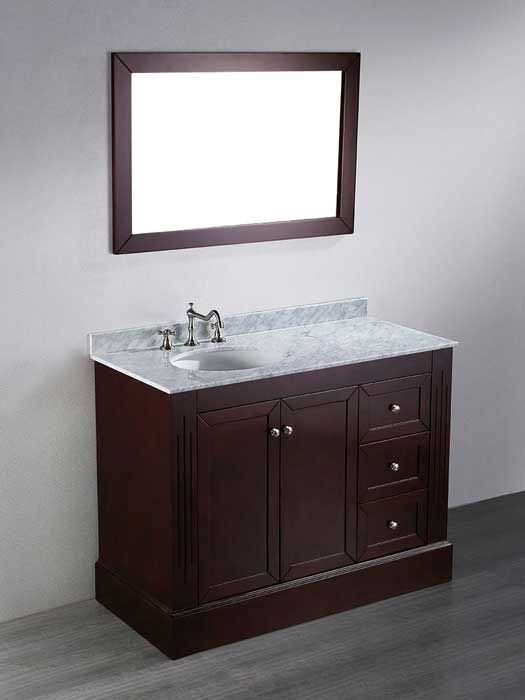 What S The Standard Depth Of A Bathroom Vanity Our