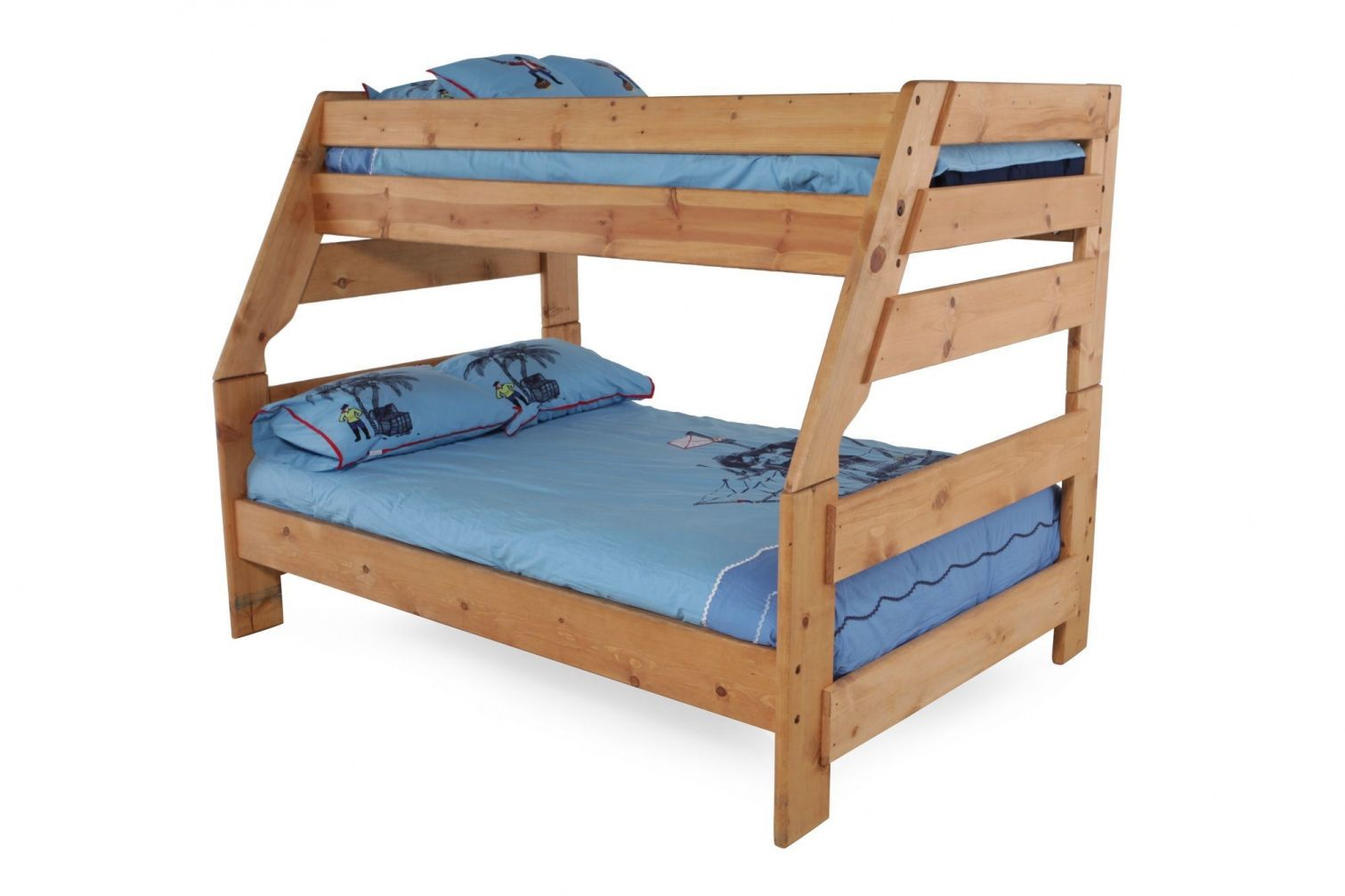 Twin Over Full Wood Bunk Bed From Bedtwin If Your Bedroom Is Still S
