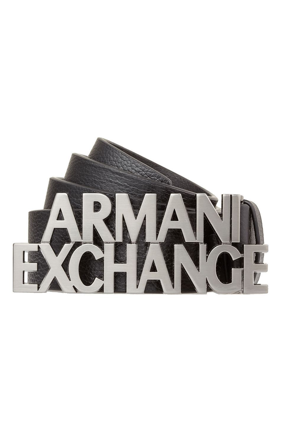 uk cheap sale picked up good texture Men's Armani Exchange Bold Logo Belt | Giorgio Armani/Armani ...
