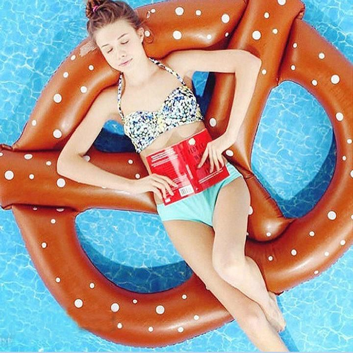 Summer Pool Floats pretzel inflatable pool float, adult