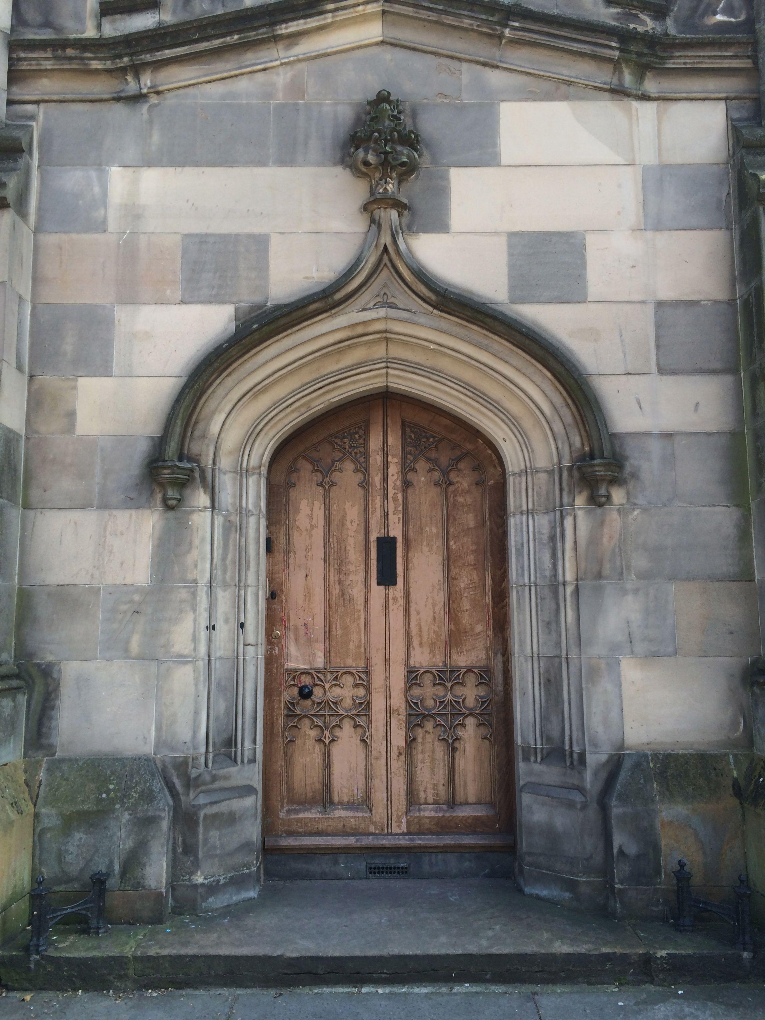 Edinburgh Castle door
