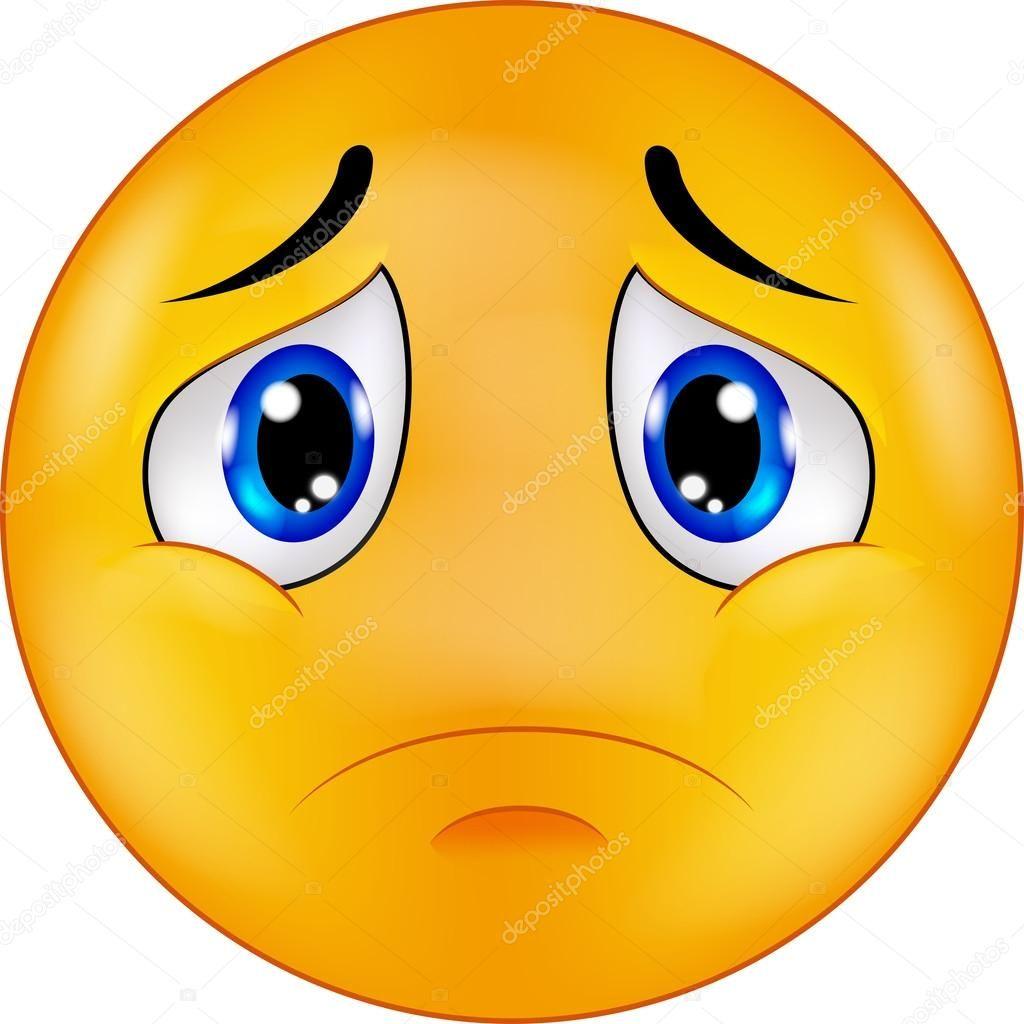 Illustration de vecteur de dessin anim d 39 emoticon smiley triste emojis pinterest emoticon - Dessin triste ...