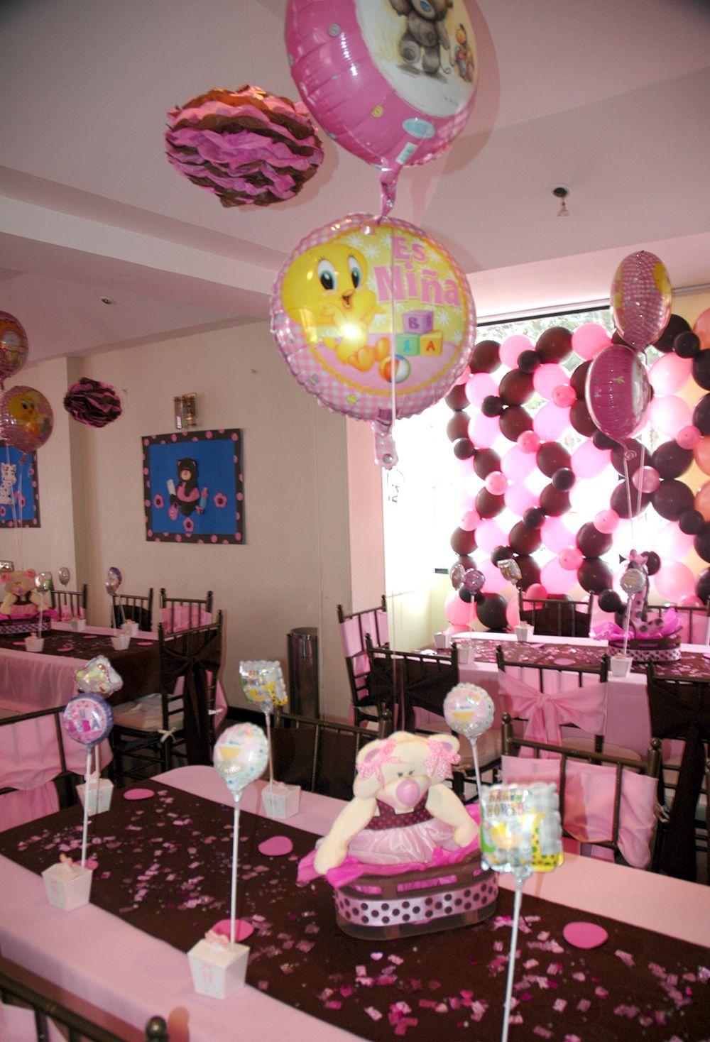 Beula decoraciones decoracion de eventos tematicos e infantiles baby shower ni a baby shower - Decoracion infantil nina ...