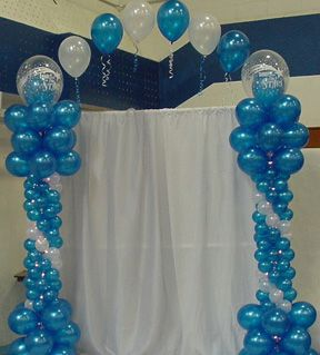Ivory purple lavender balloon arch do it yourself for Do it yourself centerpieces for birthday