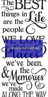 canvas love sayings