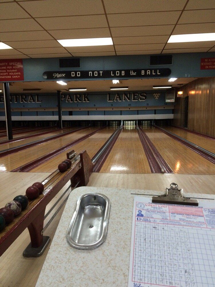 Central Park Lanes candlepin bowling Candlepin bowling