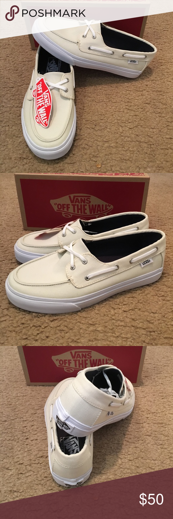 dea385708b8 Chauffette SF Vans New in box. Marshmallow Vans Shoes Flats   Loafers