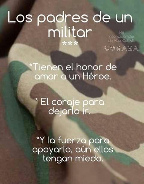 Padres Militares Militares Mexicanos Amor Militar Militar Y