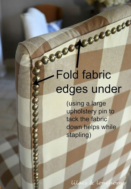 Lilacs And Longhorns: How To Reupholster A Chair | DIY   I May Have To Move  A Lot Of Stuff Here | Pinterest | Lilacs, Upholstery And DIY Furniture