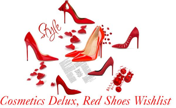 Red Shoes for Christmas