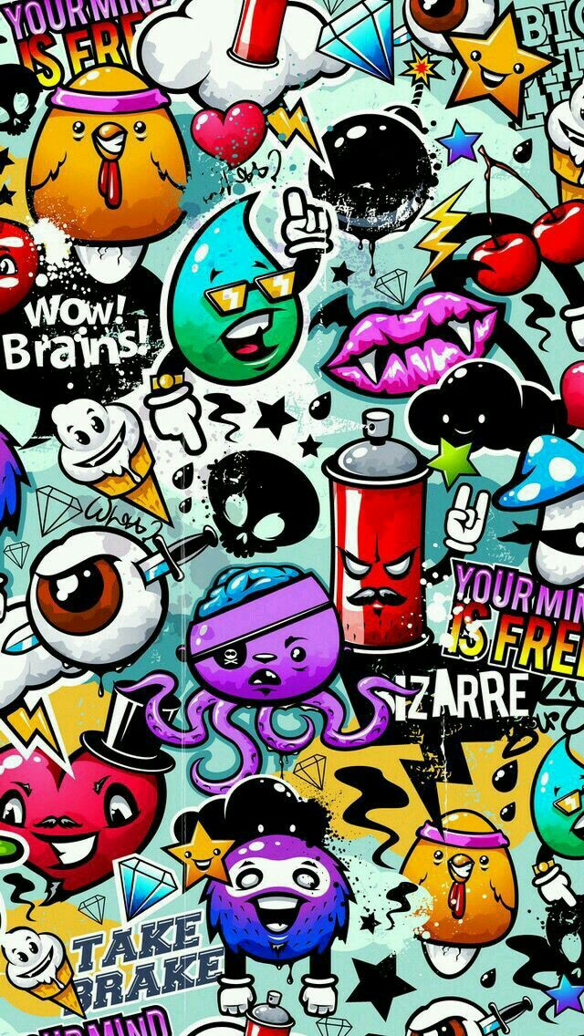 Pin By Li Li On 发现 Graffiti Wallpaper Iphone Wallpaper