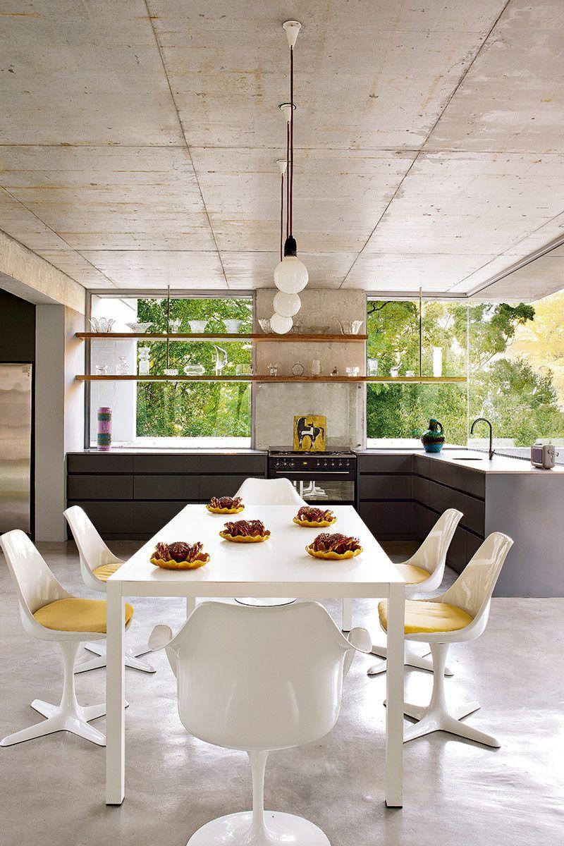 Paisaje interior ad españa montse garriga junto a la cocina