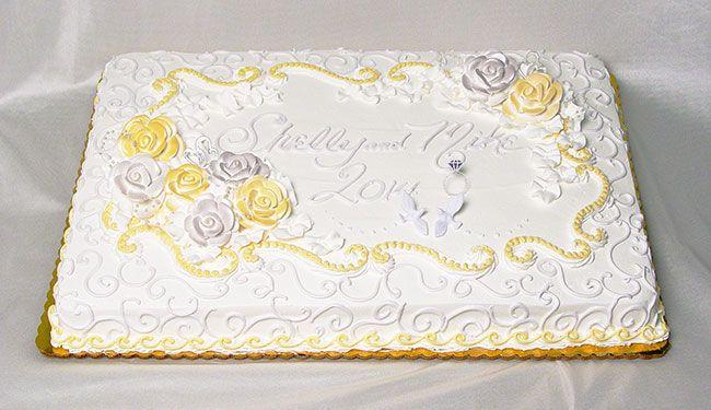 Great Wedding Cake Frosting Thin Wedding Cakes Near Me Regular Wedding Cake Design Ideas Glass Wedding Cake Toppers Old Harley Davidson Wedding Cakes WhiteCake Stands For Wedding Cakes Sheet Cake Wedding Cake | Wedding Sheet Cakes | Cakes, Cookies ..