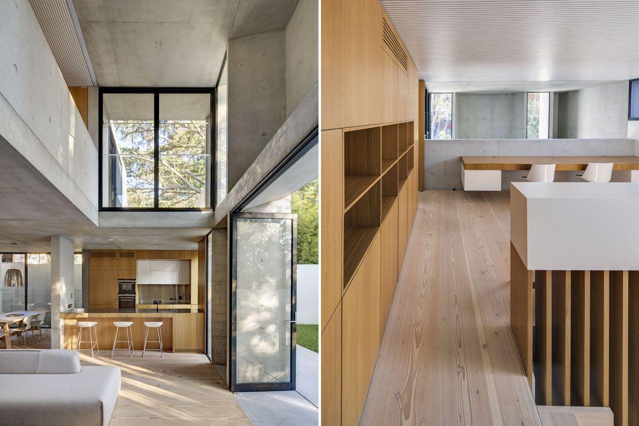 Interior architecture Nobbs Radfords Architects Glebe House