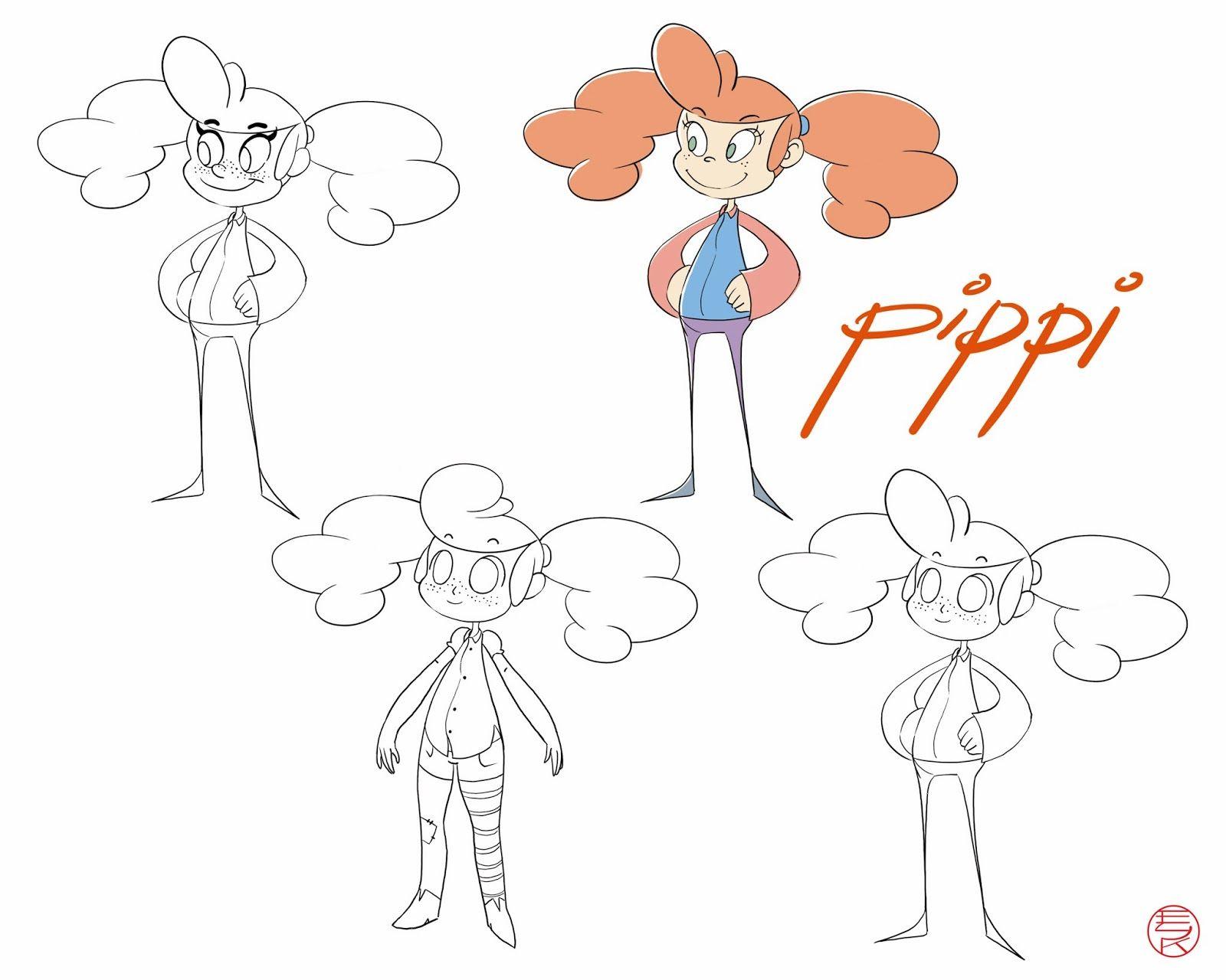 The Art of Emily Konopasek: Pippi Långstrump