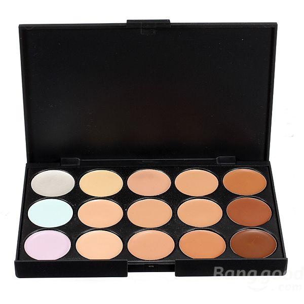 Professional Makeup Camouflage Facial Concealer Cream Palette