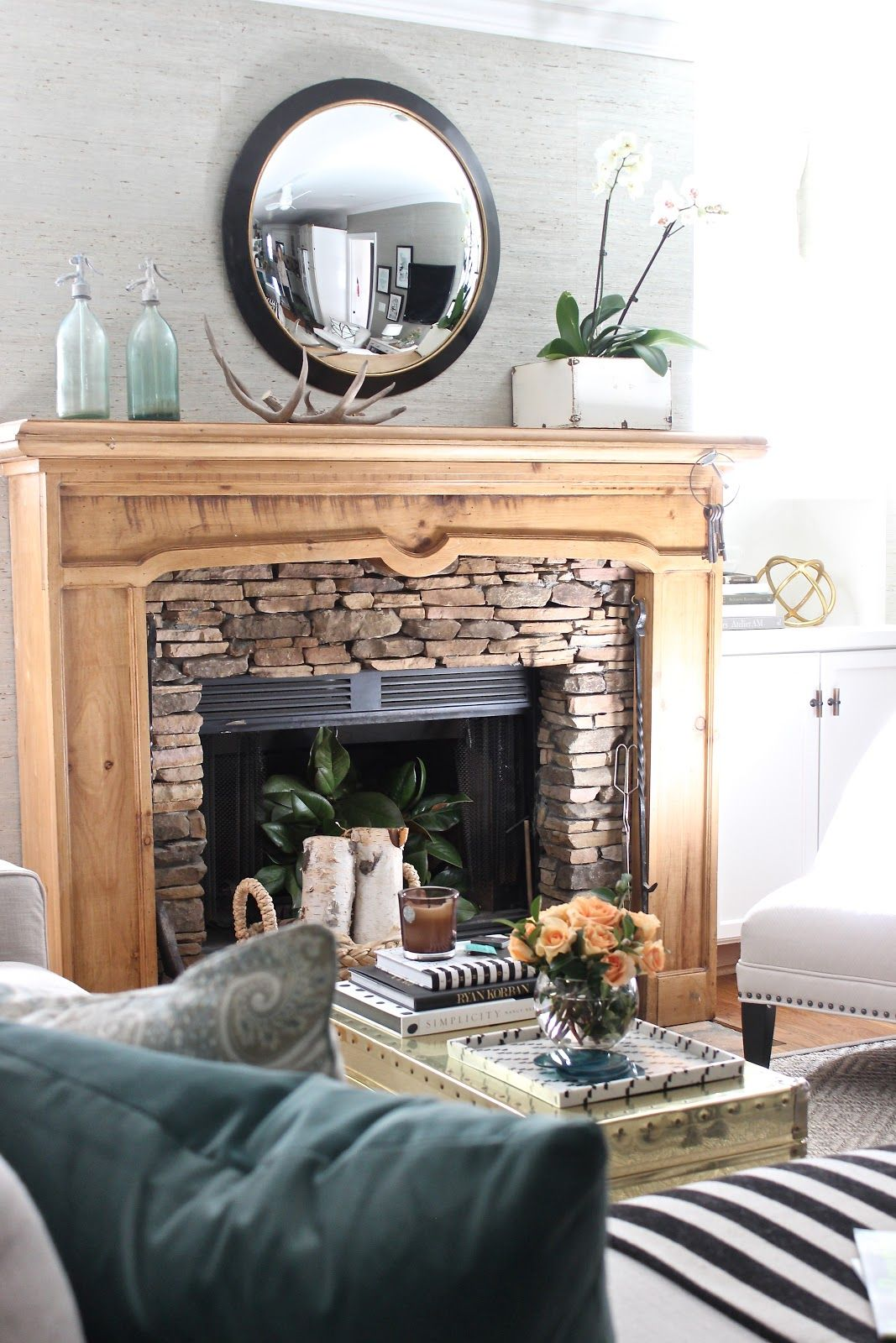 Design indulgence Mantels Pinterest Challenges Mantles and Colors