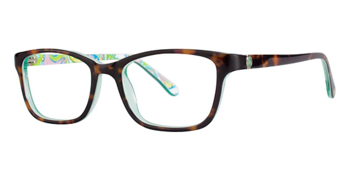 Lilly Pulitzer Marlowe Eyeglasses Frames – 49 15 135 B34 | Glasses ...