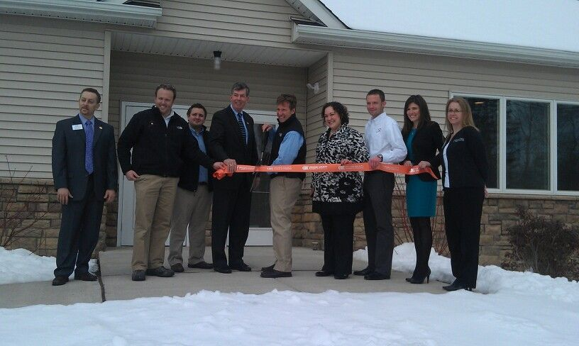 Ribbon cutting at 27 Carpenter Ave in Middletown NY