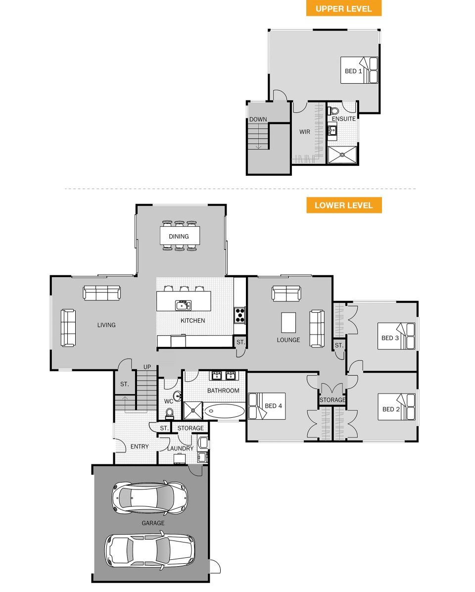 Austin House Plans House Blueprints House Design