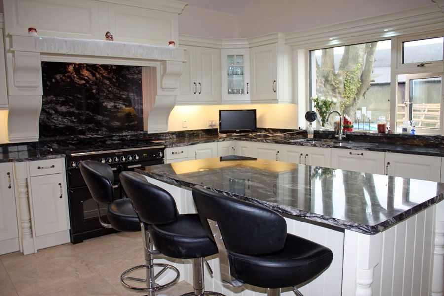 Cosmic Black  Easthavenkitchen  Pinterest  Cosmic And Kitchens Simple Average Cost To Replace Kitchen Cabinets Decorating Inspiration
