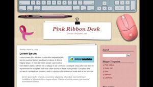 free cute blogger template | Free Blog Templates | Pinterest | Pink ...