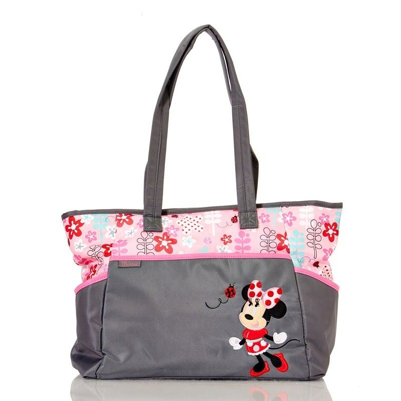 5pc Minnie Mouse Diaper Tote 380424509 Totes Diaper Bags Baby