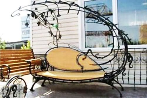 Photo of 30 Unique Garden Benches Adding Inviting and Decorative Accents to Backyard Designs