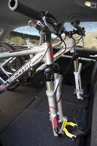 Bikeinside Interior Bike Rack For Thru Axle Forks Car