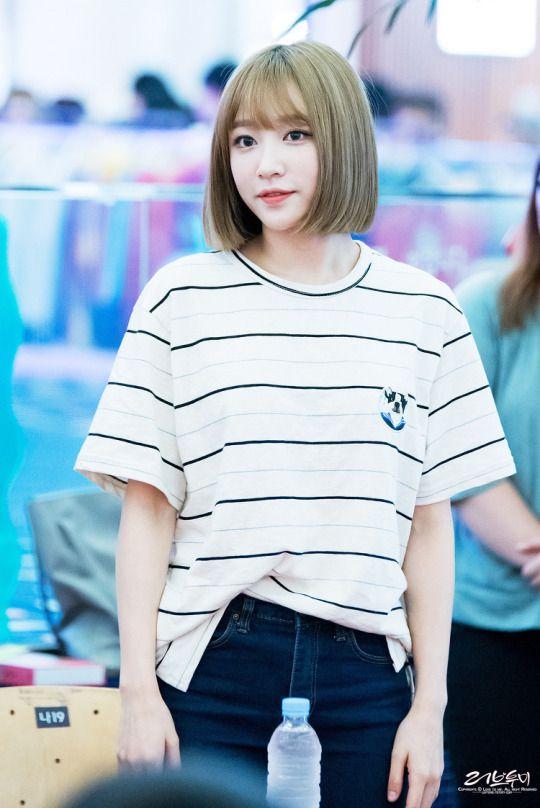 Kpop Exid Hani Short Hair Styles Women Fashion