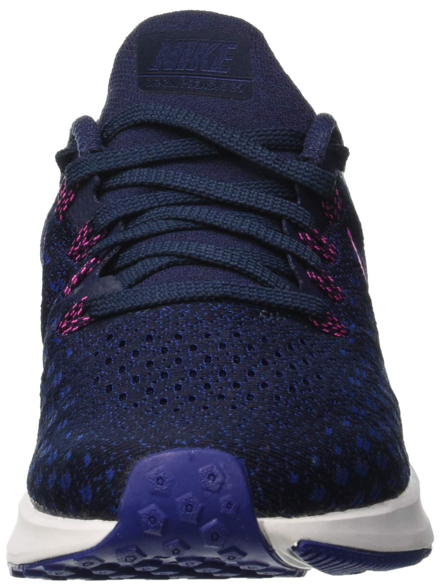 c2e75bc5e189 NIKE Womens Air Zoom Pegasus 35 Running Shoes 8 B US Obsidian Pink Blast  Deep Royal Blue -- Check out the image by visiting the link.