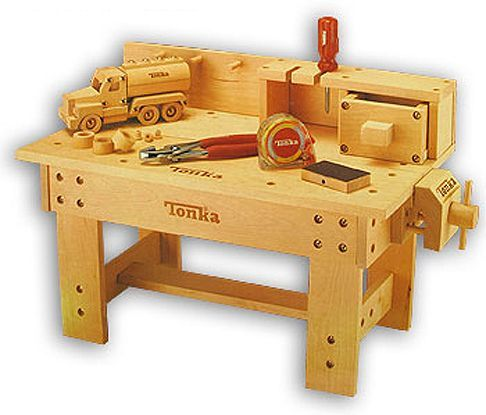 Magnificent Hasbro Tonka 3985 Deluxe Workbench Kit High Quality Pre Cut Machost Co Dining Chair Design Ideas Machostcouk