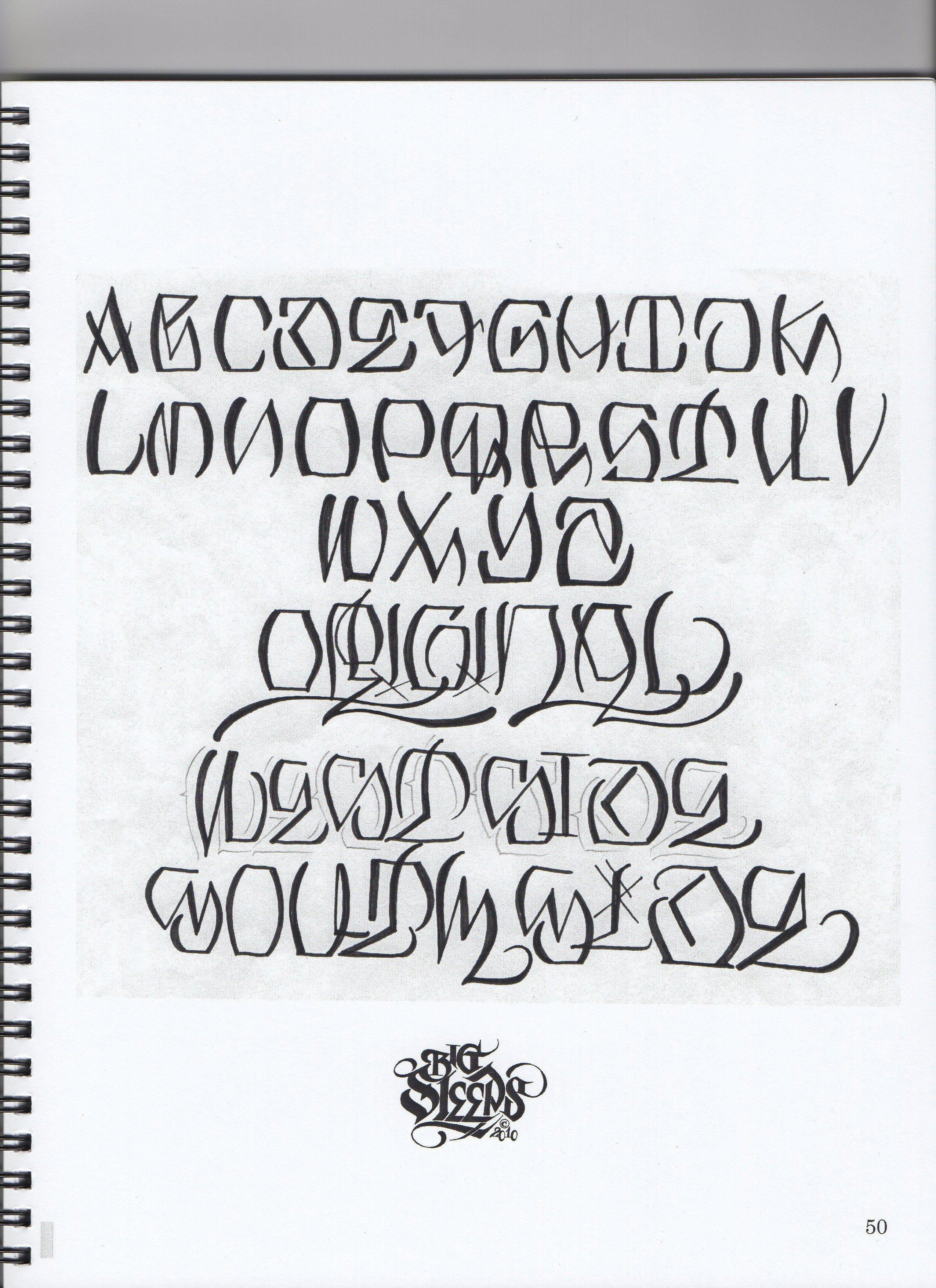 Big Sleep Lettering Fonts Tattoo Lettering Fonts Lettering