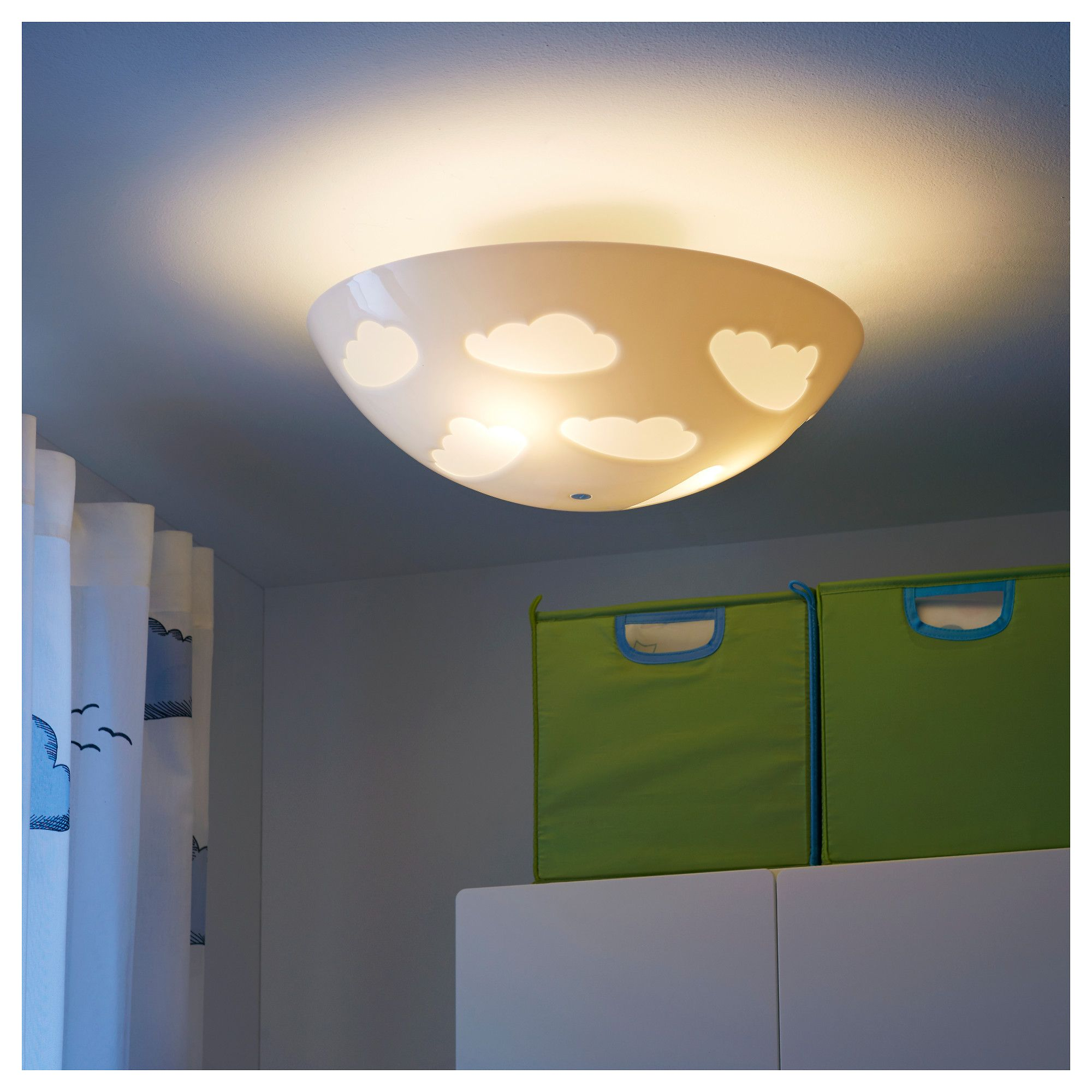 Ikea skojig ceiling lamp safety tested and tamper proof to protect childrens lighting nursery night lights kids lamps arubaitofo Gallery