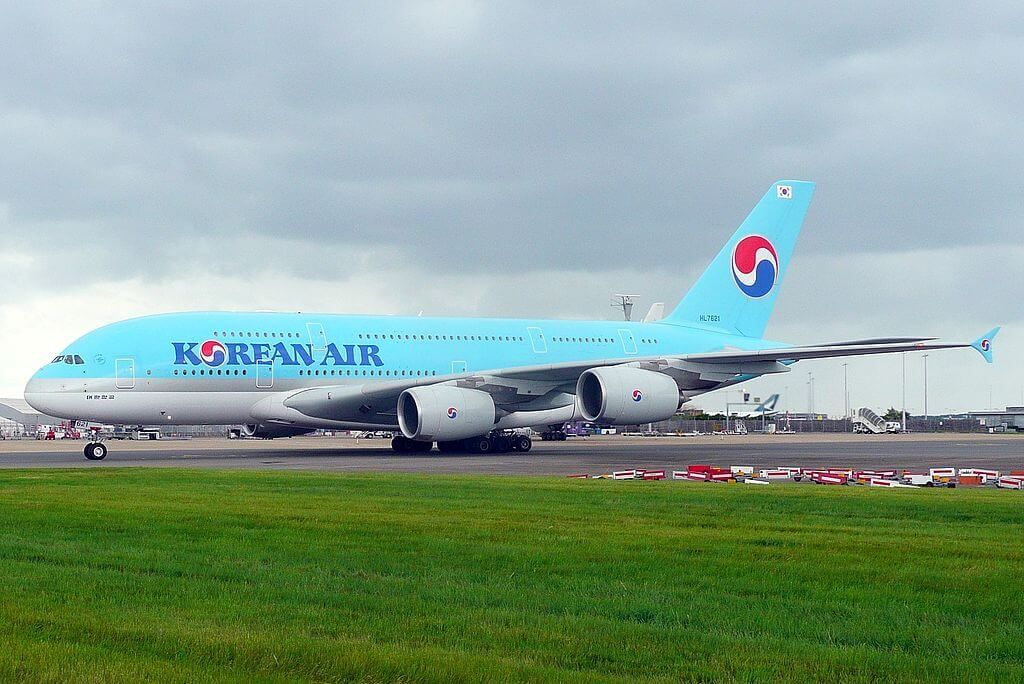 Korean Air Fleet Airbus A380800 Details and Pictures