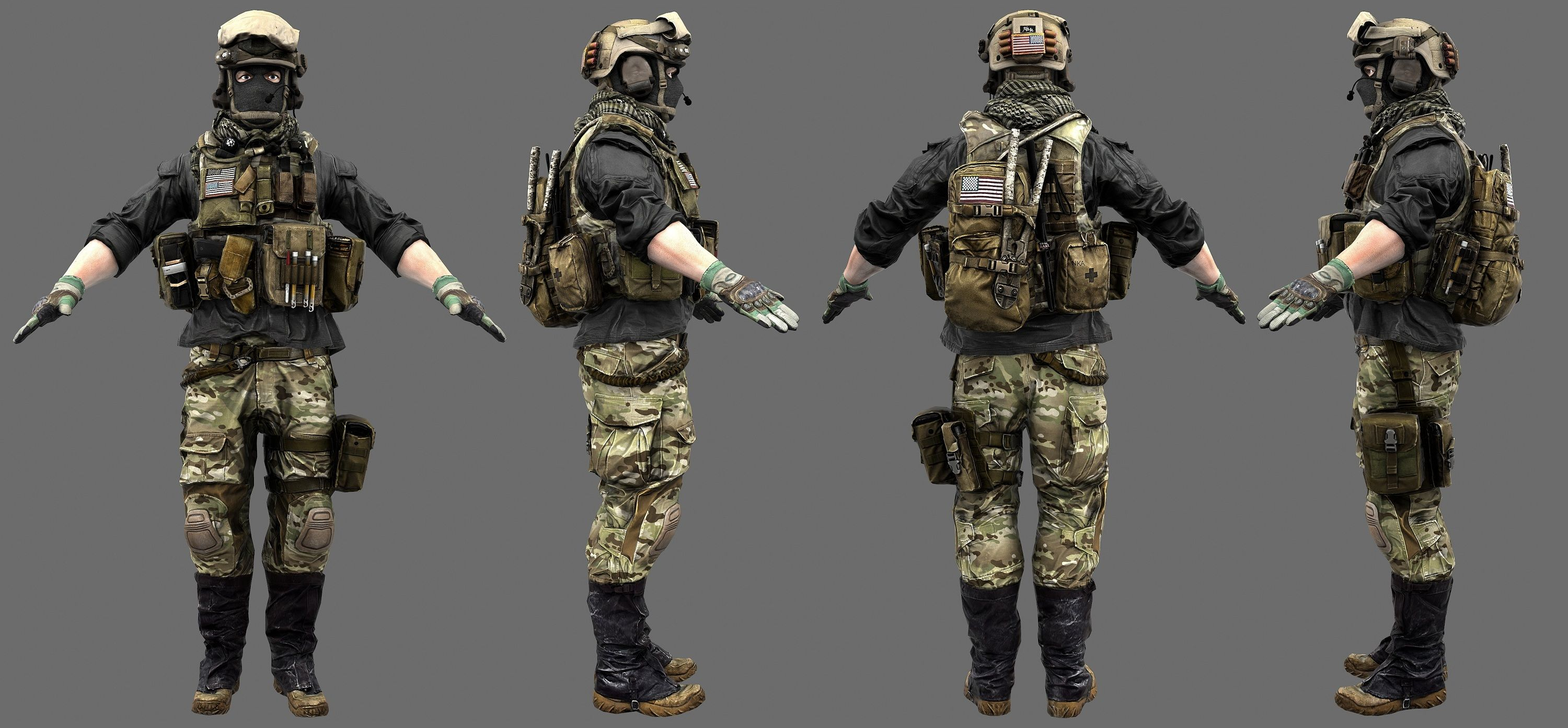 Bf4 us mp support by luxox18 on deviantart operator for Gear company of america
