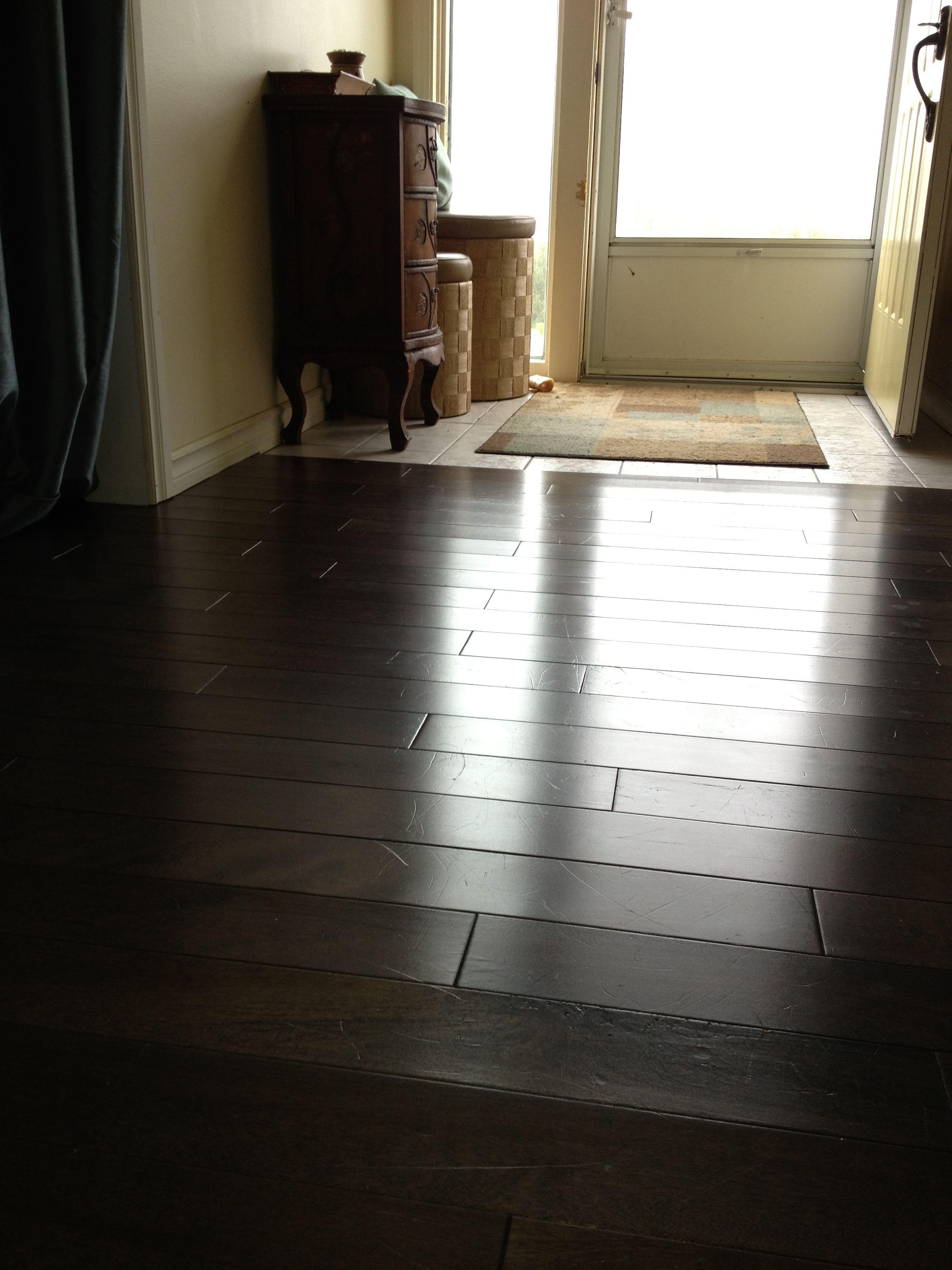 Amazing On Beaten Wood Floors 1 2 Full Mop Bucket Of Warm