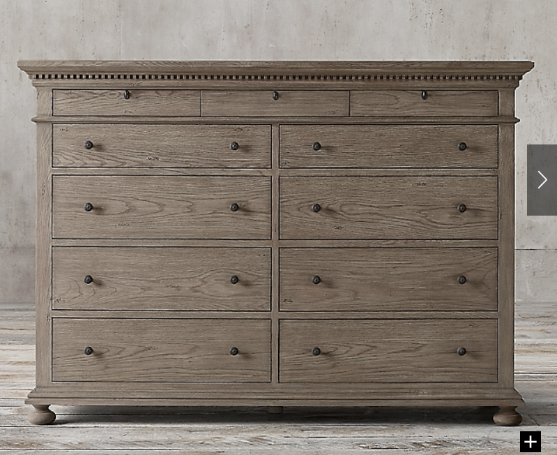 Pin By Rives Schiffman On House 12 Drawer Dresser Dresser Dresser Drawers