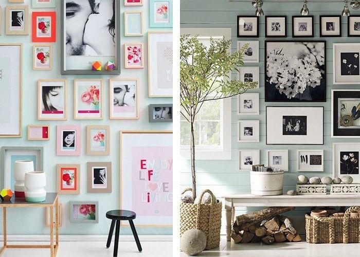 Beliebtes Interieur Deko Ideen Fotowand Dekoration